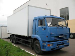Автофургон КАМАЗ для перевозки промышленных товаров